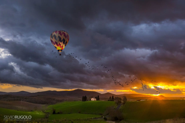 Top 10 Hot Air Ballooning-Tuscany-Photo by Silvio Rugolo