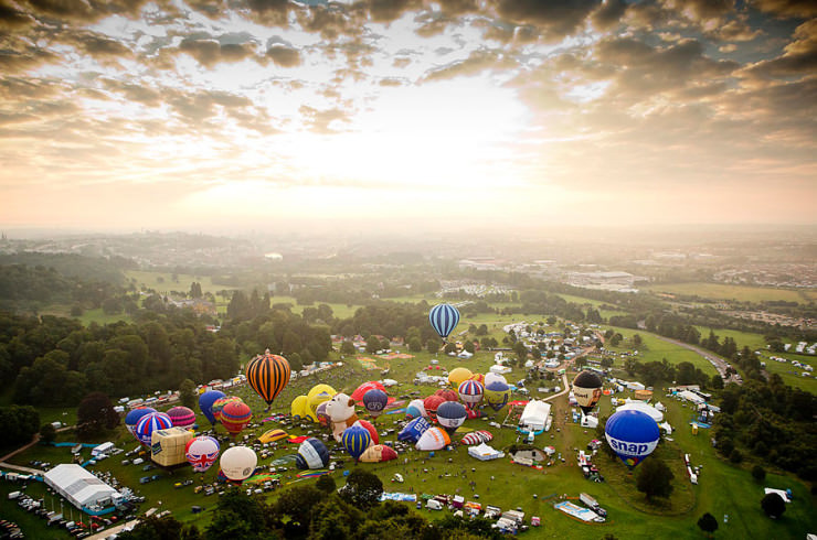 Top 10 Hot Air Ballooning-bristol-Photo by Adam Gasson