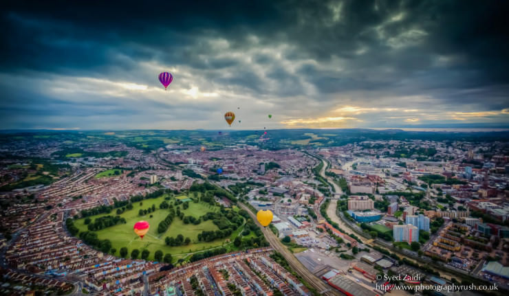 Top 10 Hot Air Ballooning-bristol-Photo by Syed Zaidi