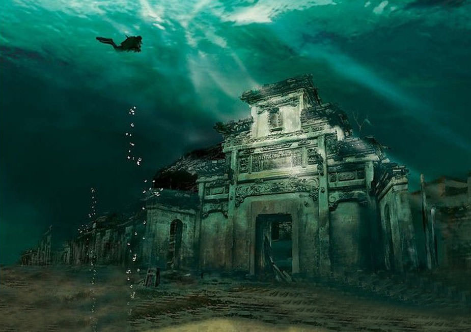 Shi Cheng – Ancient Underwater City in China