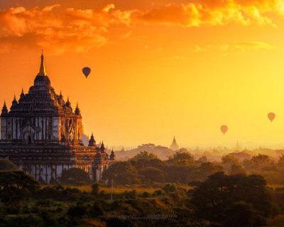 Bagan – a Strikingly Beautiful Ancient City in Myanmar