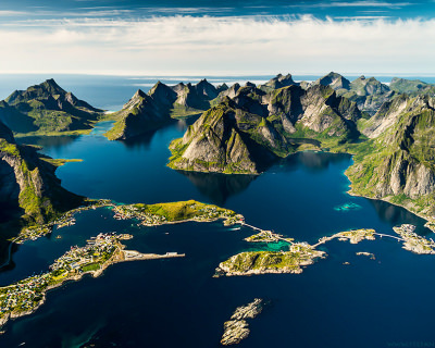Lofoten – Coral Reefs and Turquoise Water in the Arctic Circle, Norway