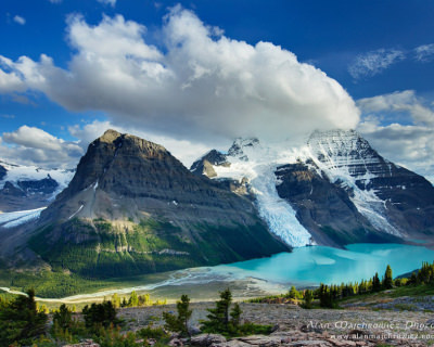Unspoiled Nature and High Peaks in Mount Robson Provincial Park, Canada