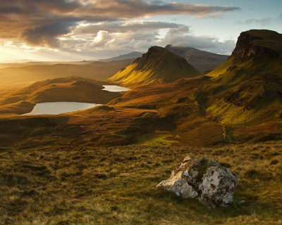 The Supernatural Site – Quirang on the Isle of Skye, Scotland