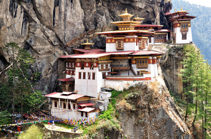 Top 10 Monasteries-Bhutan-Photo by Csilla Zelko
