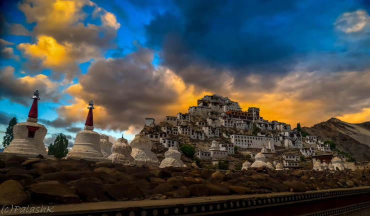 Top 10 Monasteries-India-Photo by Palash K