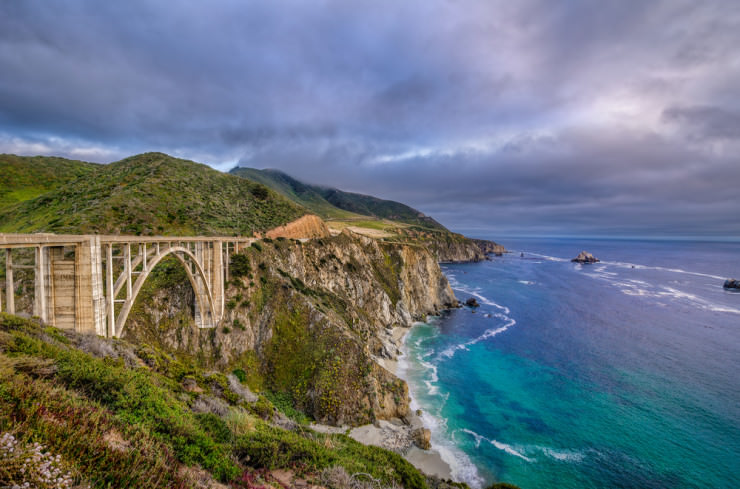 Bixby Bridge by William Woodward
