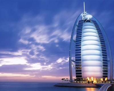 Burj Al Arab – One and Only 7 Star Hotel in Dubai, UAE