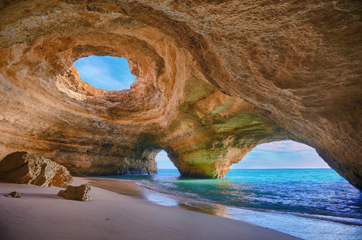 Caves in Algarve-Photo by Bruno Carlos
