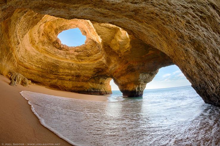 Caves in Algarve-Photo by Joel Santos