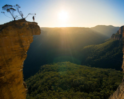 Spectacular Views at Hanging Rock, Australia