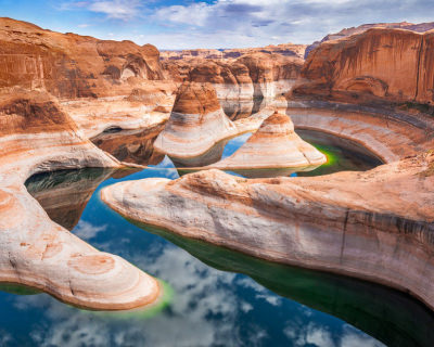 Reflection Canyon – the S-Shaped Picturesque Site, USA