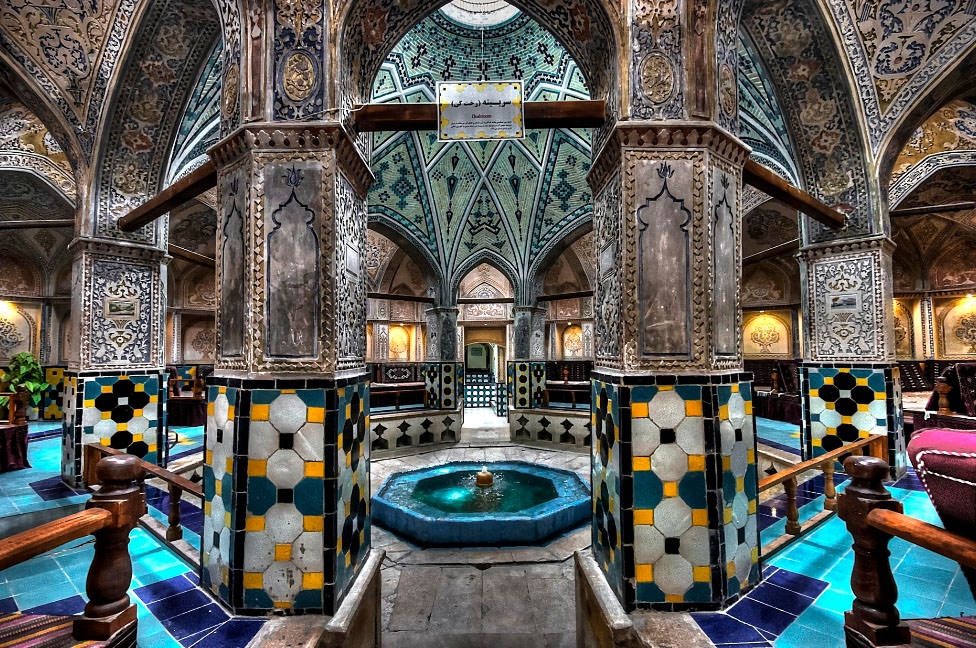 Sultan Amir Ahmad Bathhouse – a Gorgeous Ancient Spa in Iran