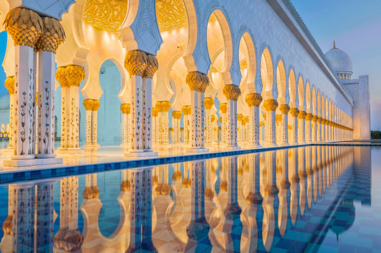 Top 10 islamic architecture places to see in your lifetime for Architectural design companies in abu dhabi