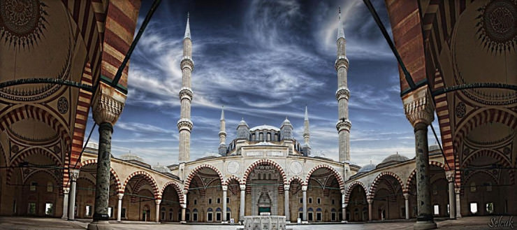 Top 10 Arabic Architecture-Edirne