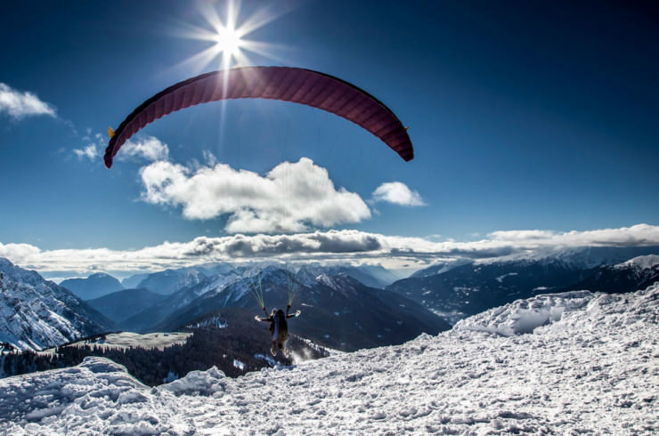 Top 10 Paragliding Sites-Dolomiti-Photo by Alberto Santini
