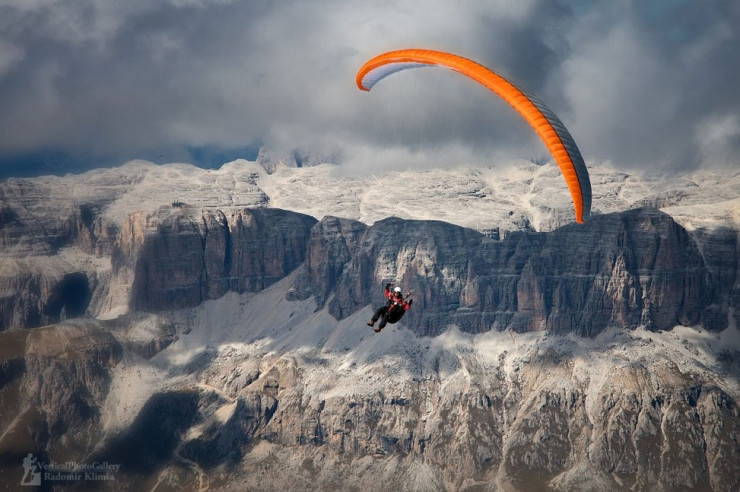 Top 10 Paragliding Sites-Dolomiti-Photo by Radomír Klimša