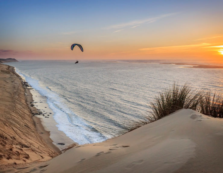 Top 10 Paragliding Sites-Gironde-Photo by Jean-Philippe Bellon