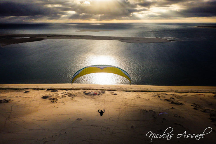 Top 10 Paragliding Sites-Gironde-Photo by Nicolas Assael