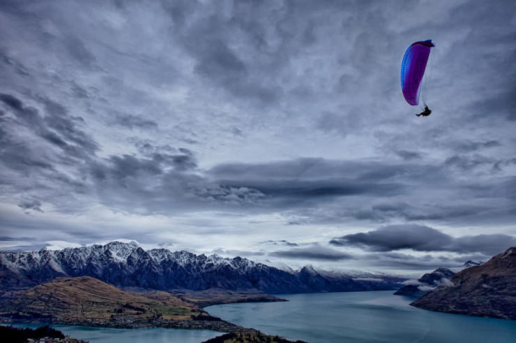 Top 10 Paragliding Sites-Queenstown-Photo by Mark Meredith
