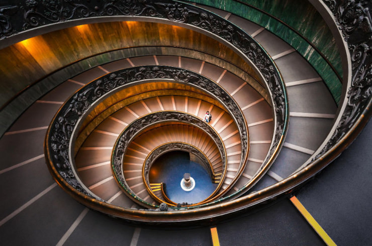 Top 10 Spiral-Vatican-Photo by DB Photographe