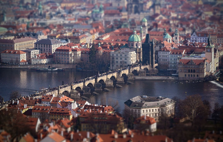 Charles Bridge-Photo by Gabor Jonas