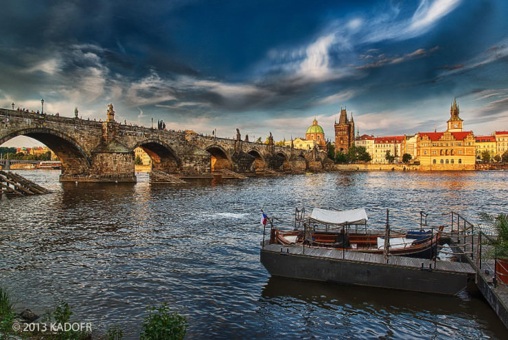 Charles Bridge-Photo by Karel Dobes