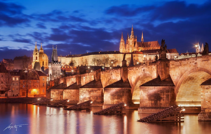 Charles Bridge The Most Beautiful Gothic Structure In The Czech Republic Places To See In