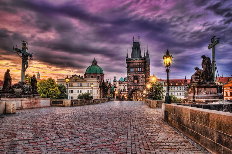 Charles Bridge - the Most Beautiful Gothic Structure in the Czech Republic