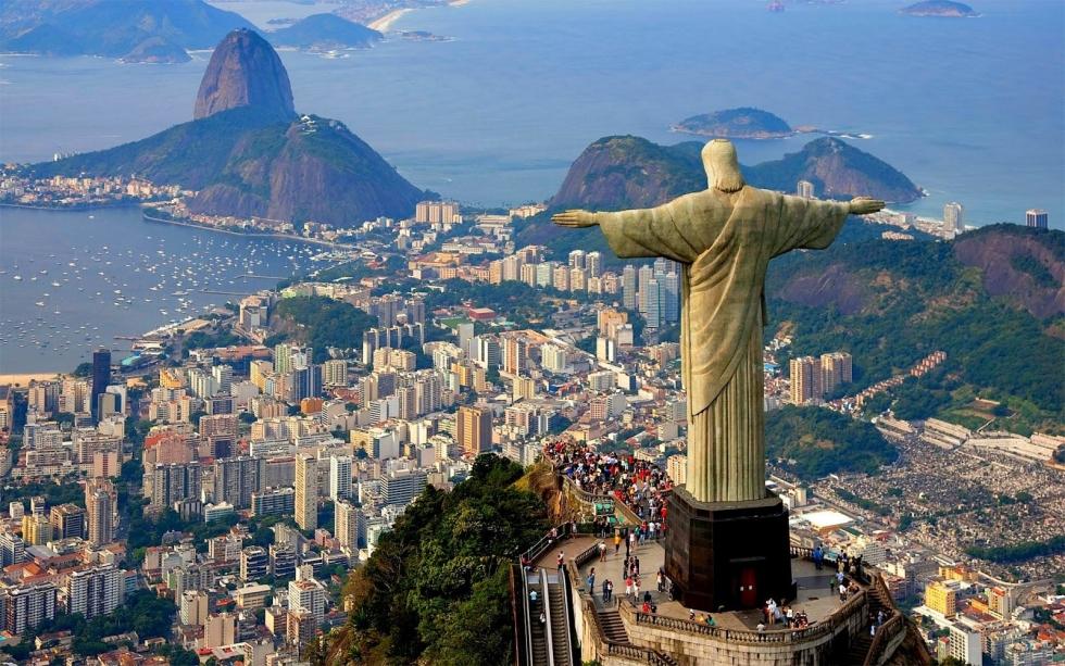 Christ the Redeemer – the Guardian of Rio de Janeiro, Brazil