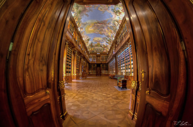 Clementinum National Library-Photo by Tzvika Stein