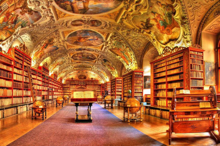 Clementinum National Library2