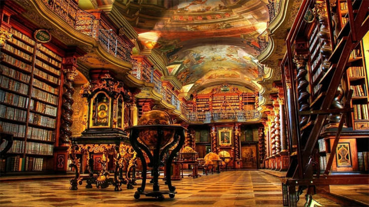 Clementinum National Library3