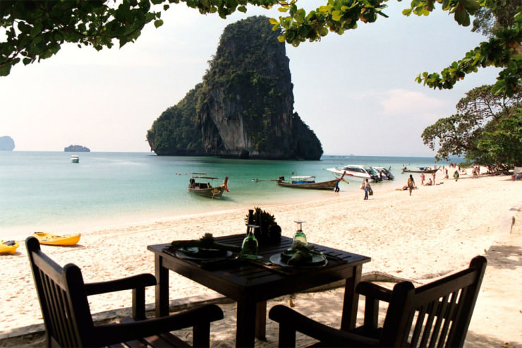The Beach Restaurant Krabi