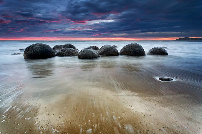 Top 10 Rock Formations-Moeraki