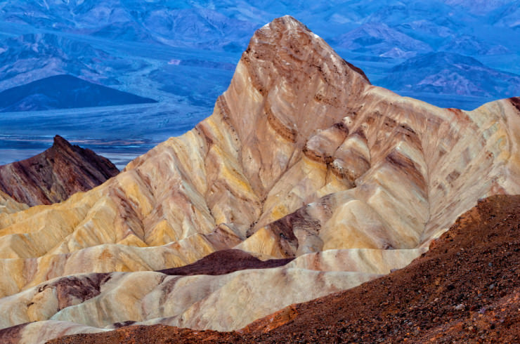 Top 10 Rock Formations-Zabriskie Point-Photo by Barbara Hayton