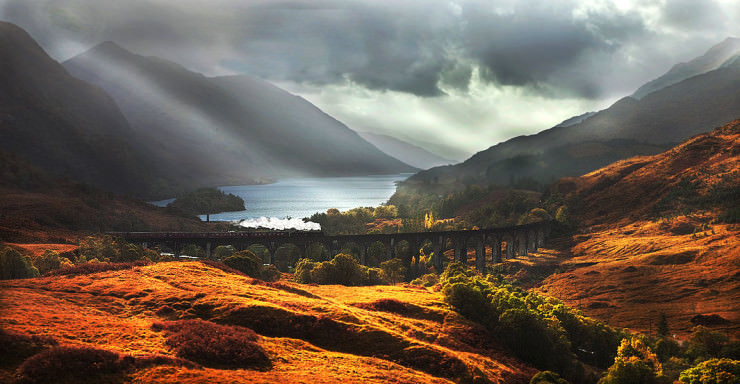 Top 10 Scenic Rides-Jacobite-Photo by Graham Brown
