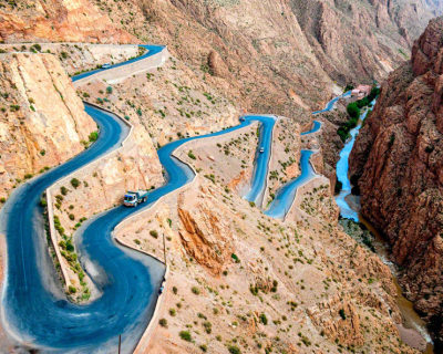 Dades Gorge – Stunning Winding Roads in the Atlas Mountains, Morocco