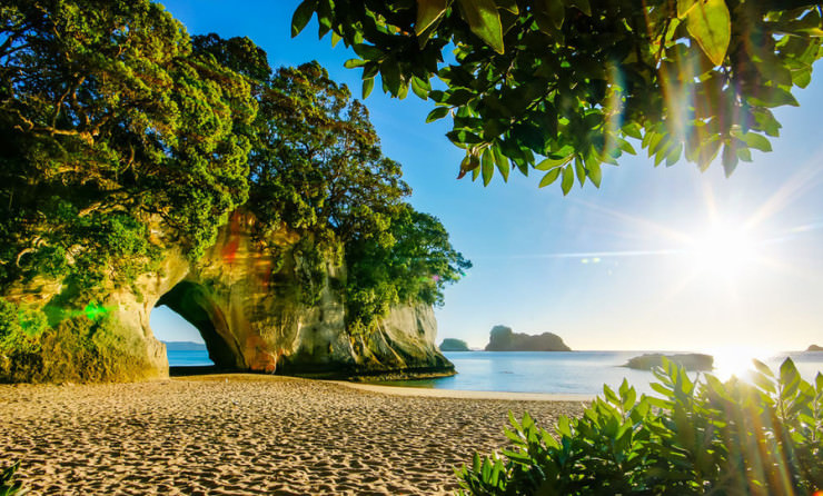 Top 10 Unusual Beaches-Cathedral Cove 2