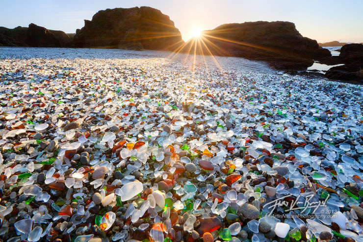 Top 10 Unusual Beaches-Glass-Photo by Floris van Breugel