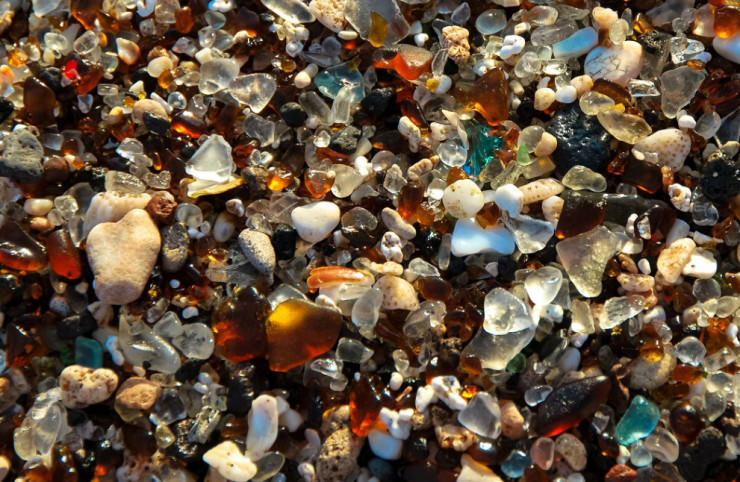 Top 10 Unusual Beaches-Glass-Photo by Tina Mitchell