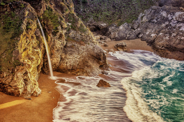 Top 10 Unusual Beaches-McWay Fall-Photo by David McCurry Photography