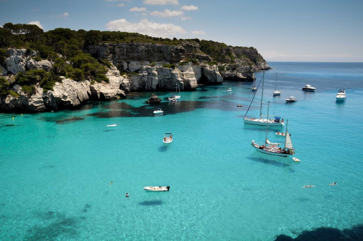 Top 10 Unusual Beaches-Menorca- Photo by Basilio Ochando