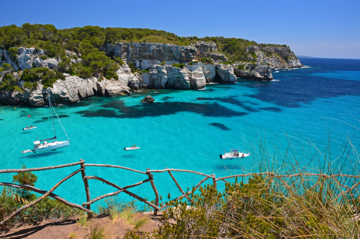 Top 10 Unusual Beaches-Menorca- Photo by Pawel Kazmierczak