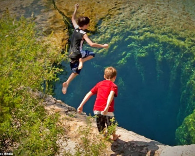 Have a Refreshing Dip in Jacob's Well, USA