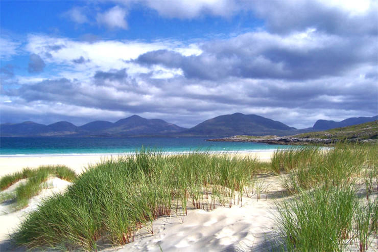 Luskentyre beach how to get there