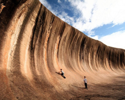 Wave Rock – a Natural Wall in Hyden, Western Australia