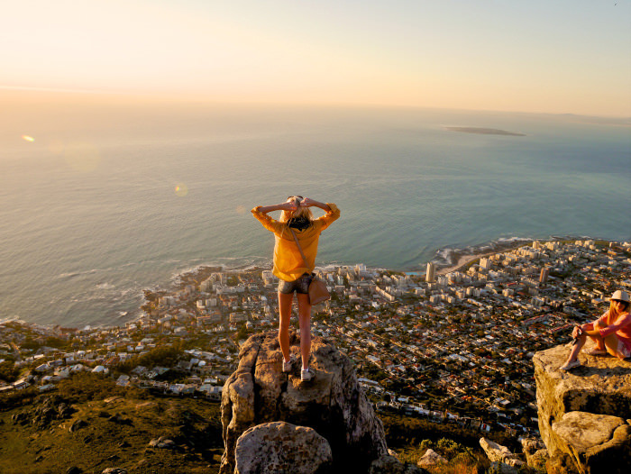 Lion's Head – a Peak Overlooking Cape Town, South Africa