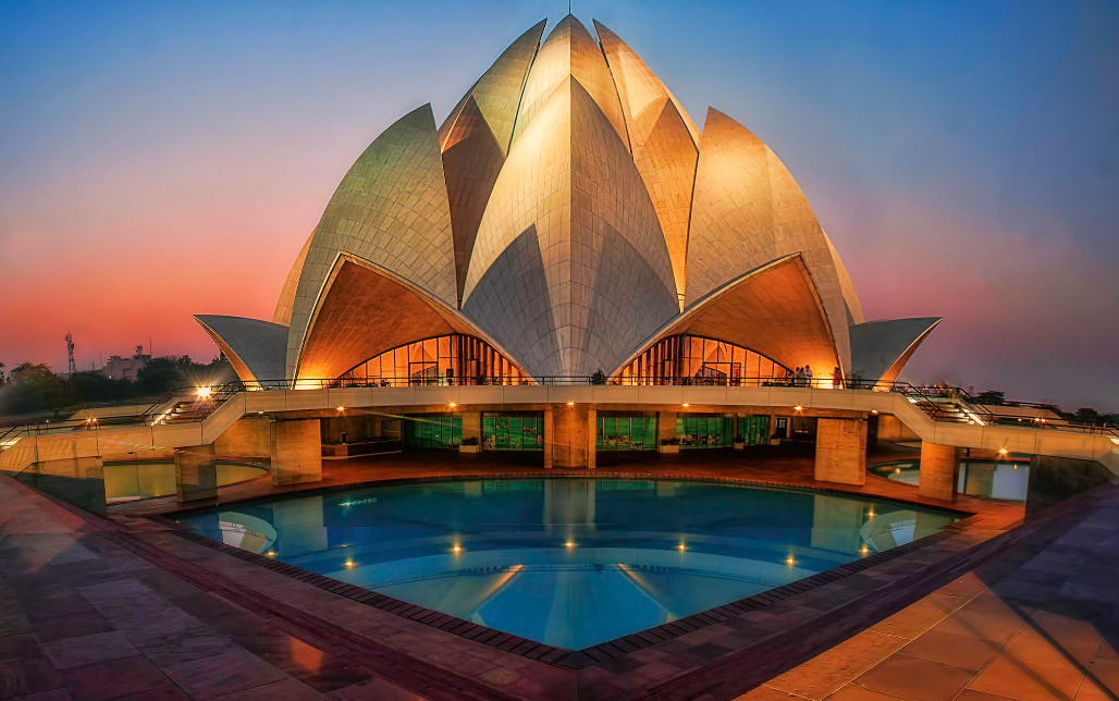 The Lotus Temple A Blossom Of Inspiring Architecture In