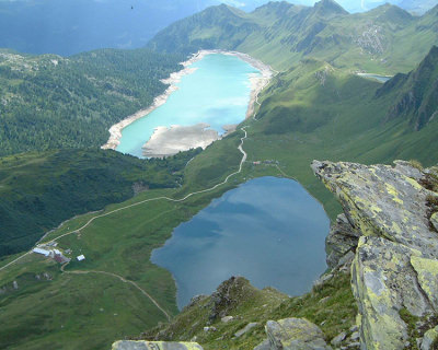 Three Colorful Lakes in Gorgeous Piora Valley, Switzerland